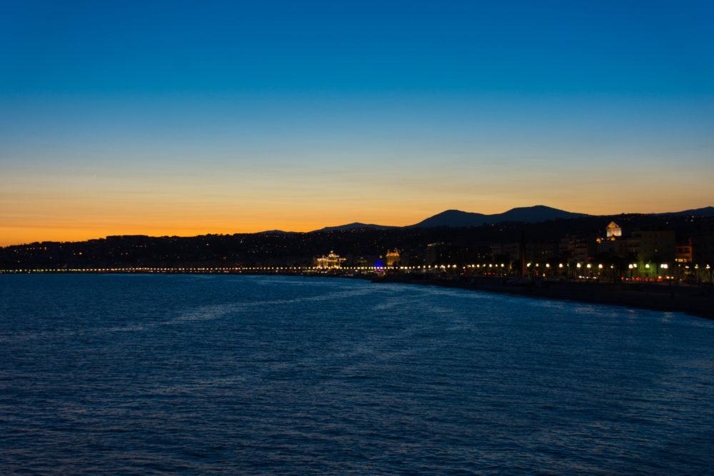 nice sunset negresco