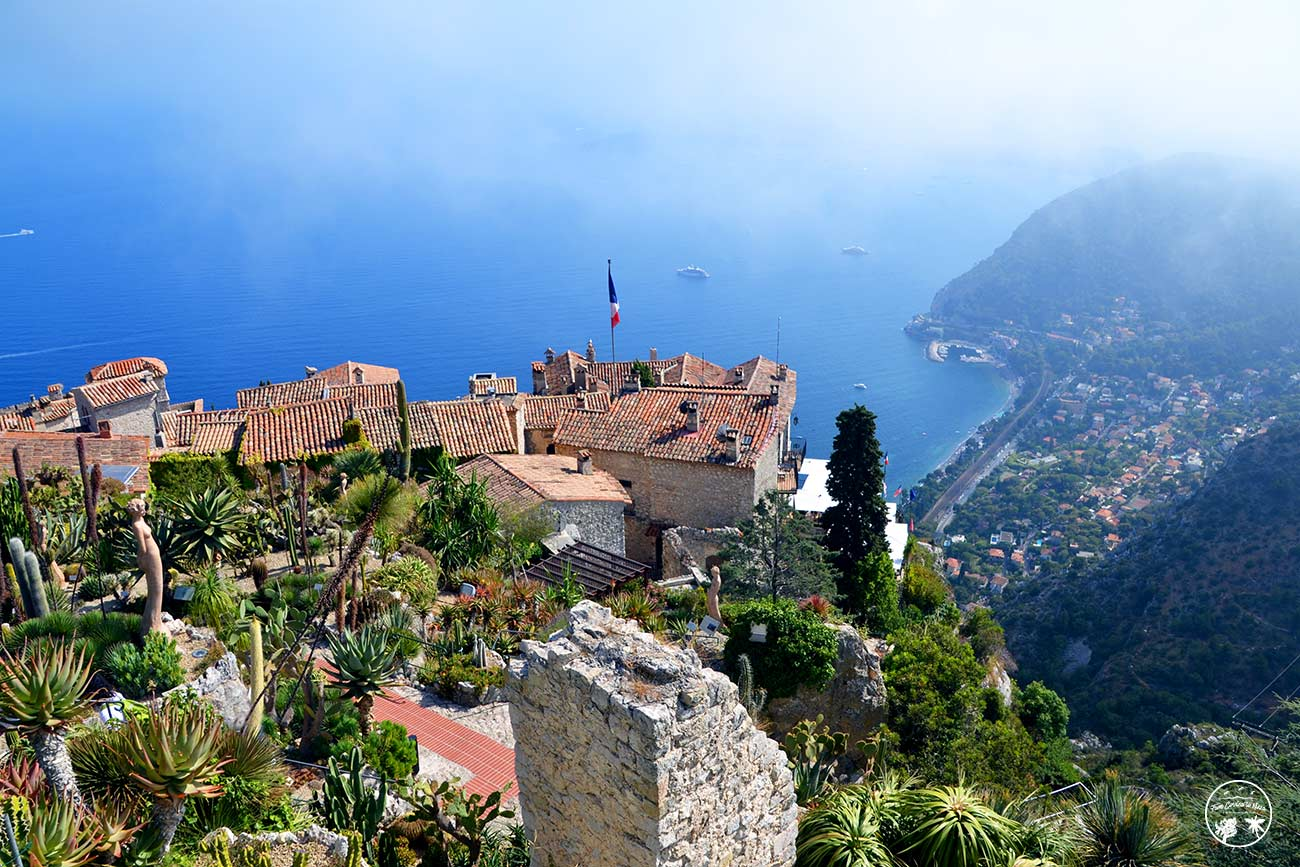 Le jardin exotique d\'Èze panorama sur la Côte d\'Azur - From Corsica ...