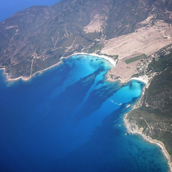 Corsica from above