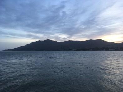 Carlingford Lough as the sun set