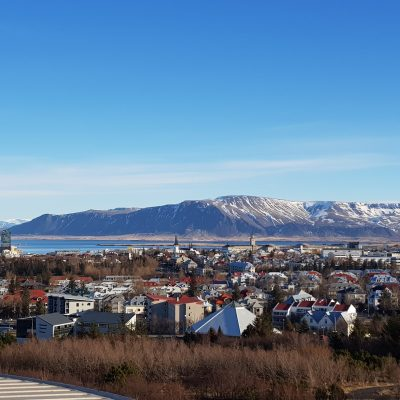 vue panoramique de Reykjavik