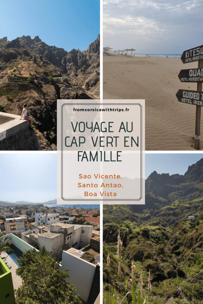 Voyage au Cap Vert avec des enfants : les îles de Sao Vicente, Santo Antao et Boa Vista