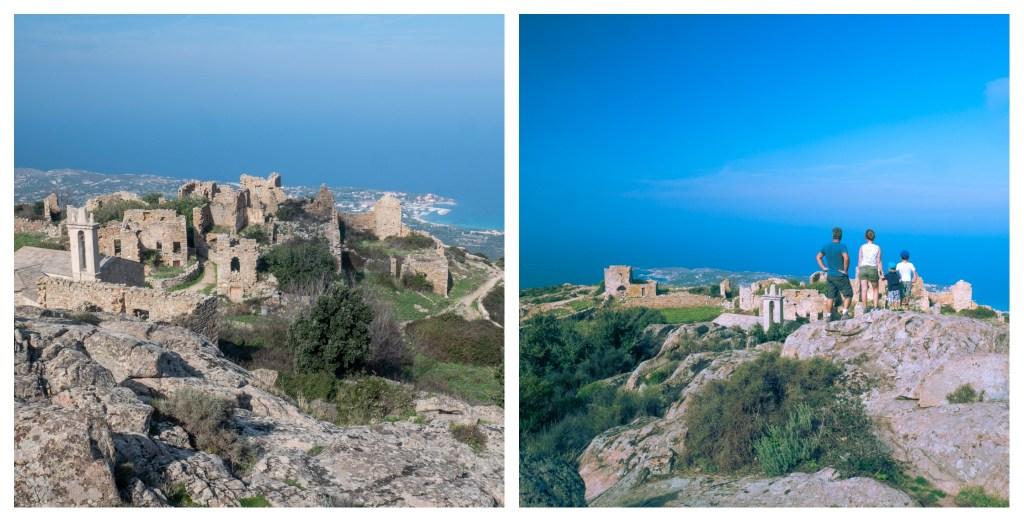 Vacances en Corse en famille : le village abandonné d'Occi à Lumio