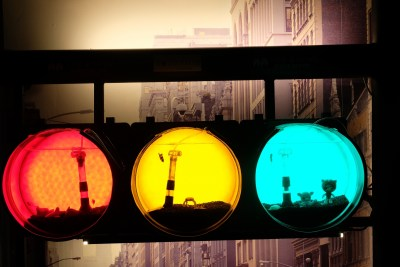 Traffic Light Aquarium