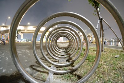 Bicycle parking spiral