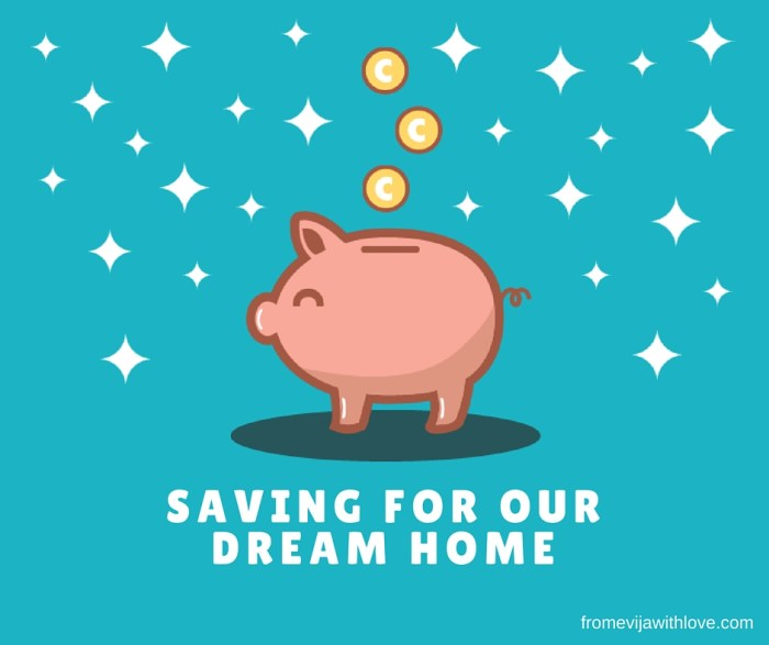 saving for our dream home