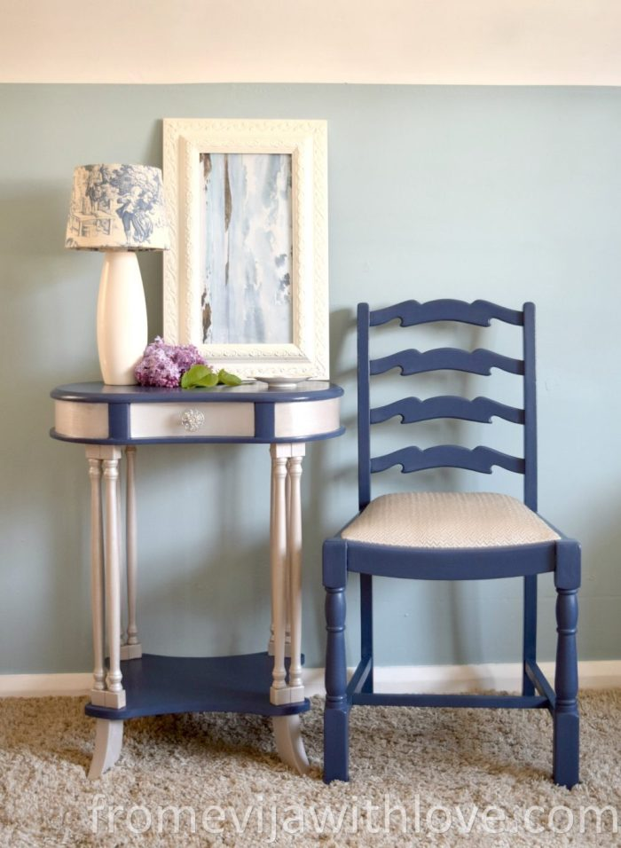 shabby-chic-blue-silver-furniture