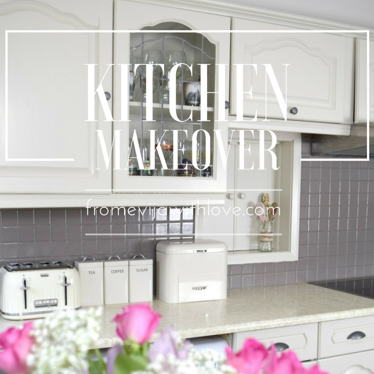 Quick and Easy Kitchen Makeover - DIY Painted Cabinets