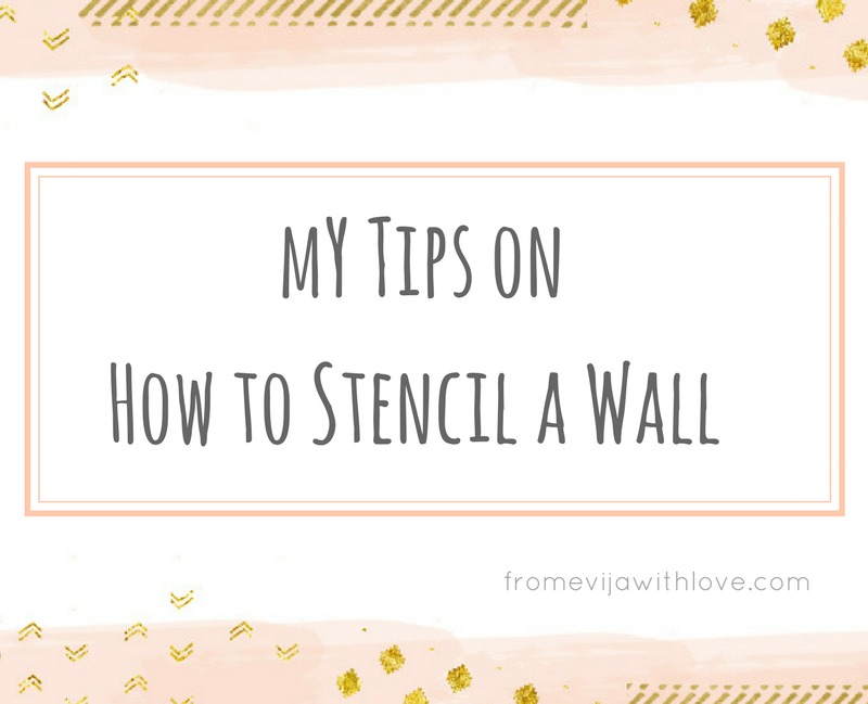 How to Stencil a Wall - Beginners Guide