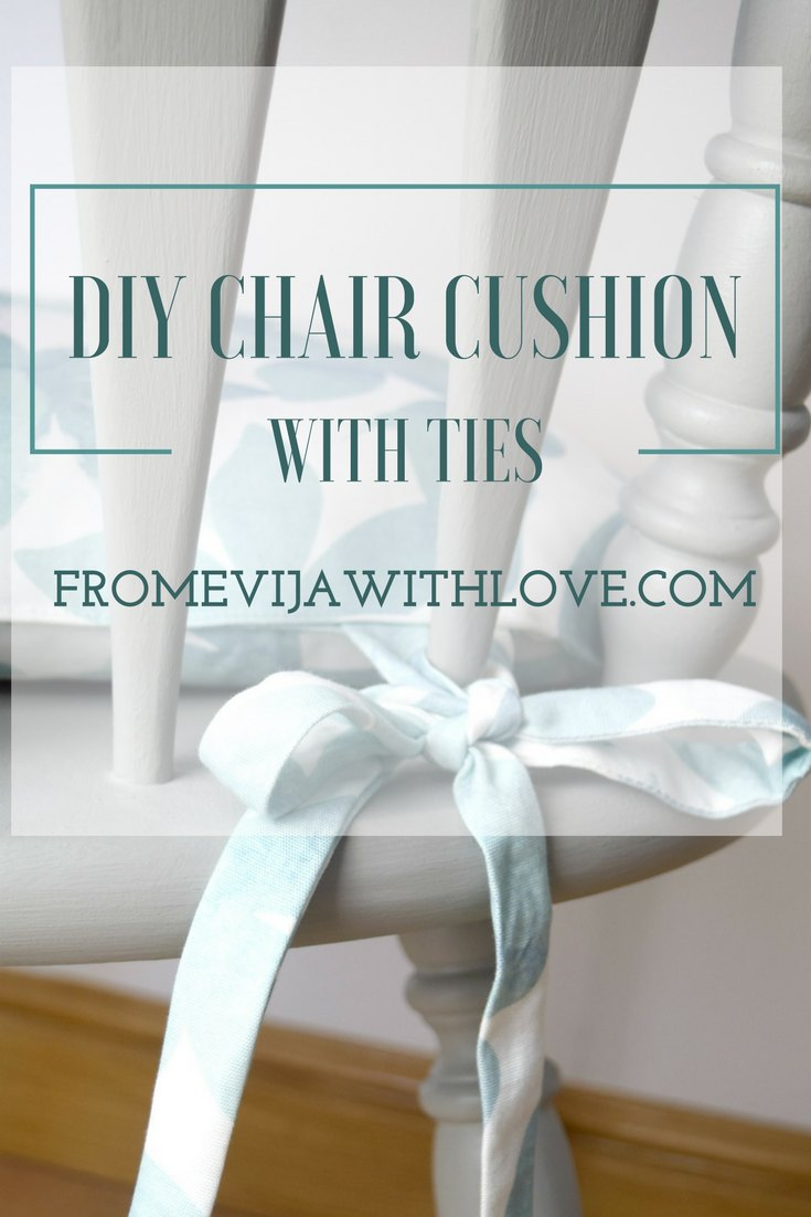 I Already Had The Chair I Was Going To Use In The Craft Room, So I Decided  To Make A Matching Cushion Using The Same Fabric.