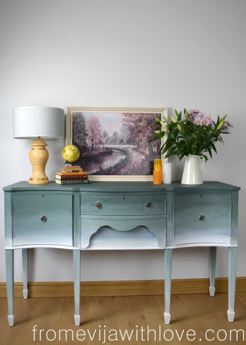 Ombre Effect on Furniture and OFMP GIVEAWAY
