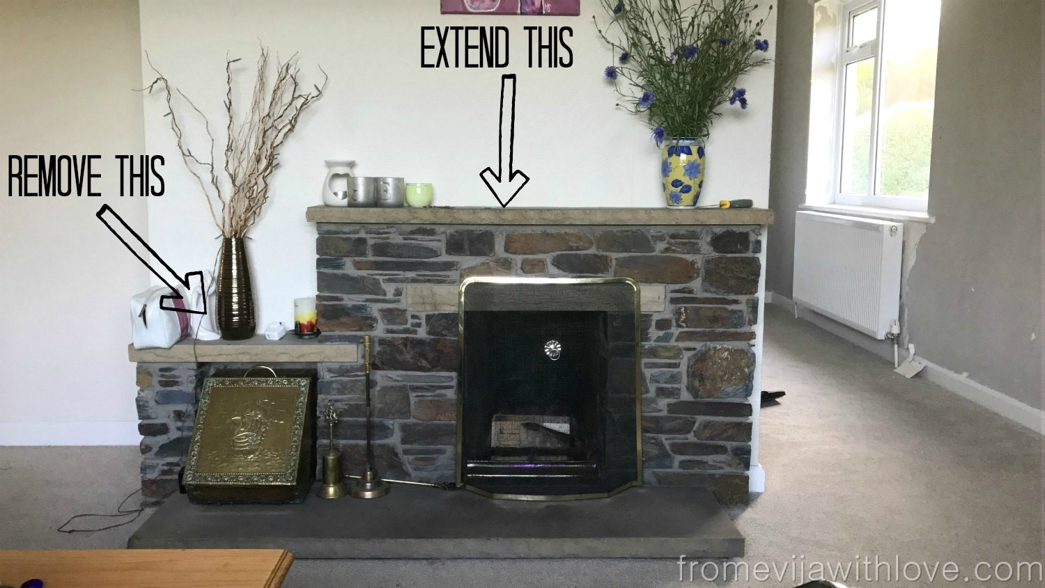install concepts granite surfaces and leather fireplace omaha for brown stone elegant hearth marble fireplaces unique