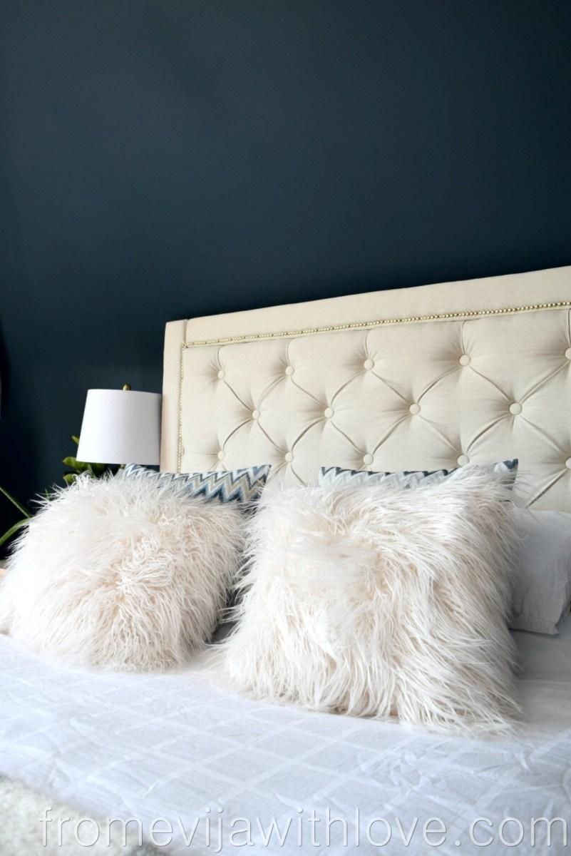 DIY How to Create a Diamond Tufted Upholstered Headboard