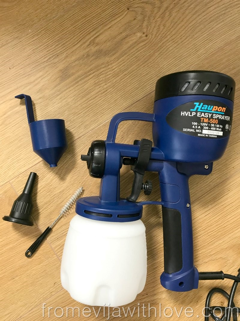 How To Use A Finish Max Paint Sprayer And Bookshelf Update