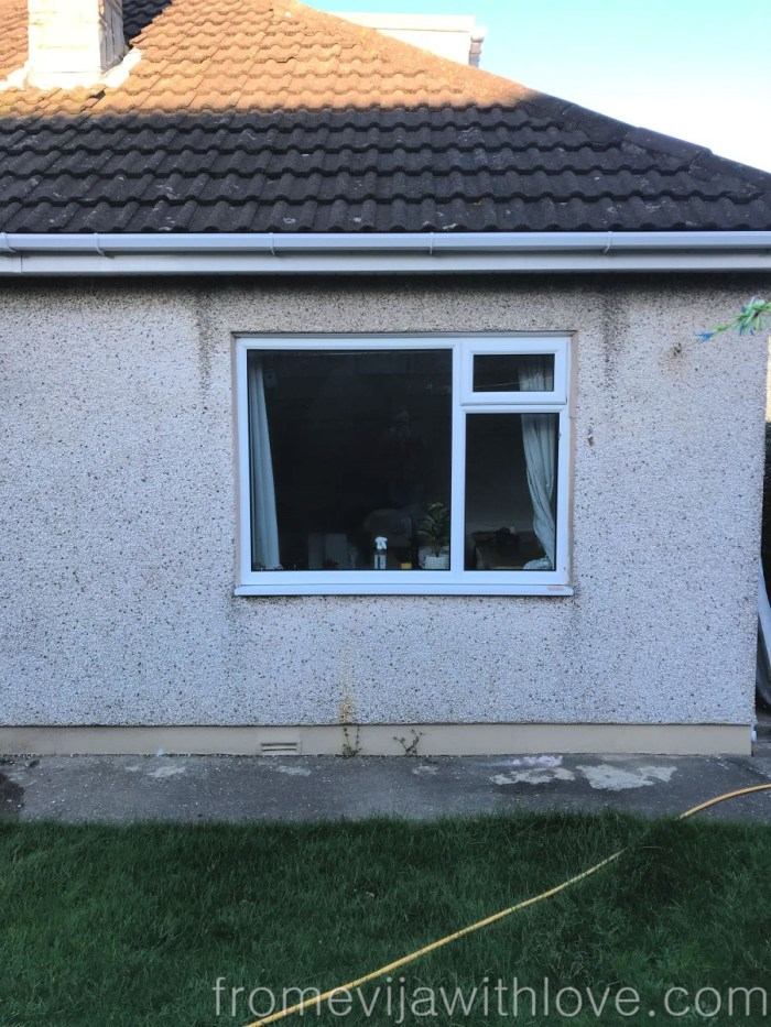 Kitchen renovation how to install french doors