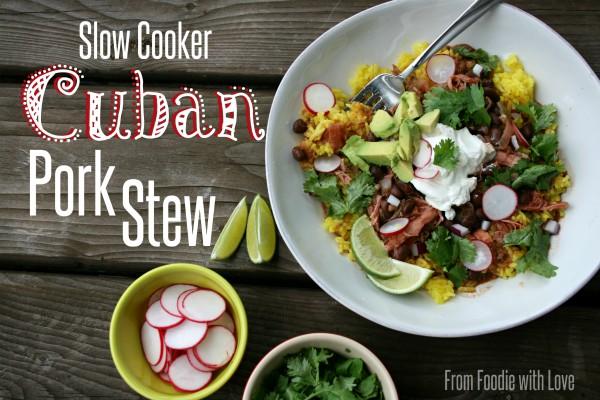 Slow Cooker Cuban Pork Stew