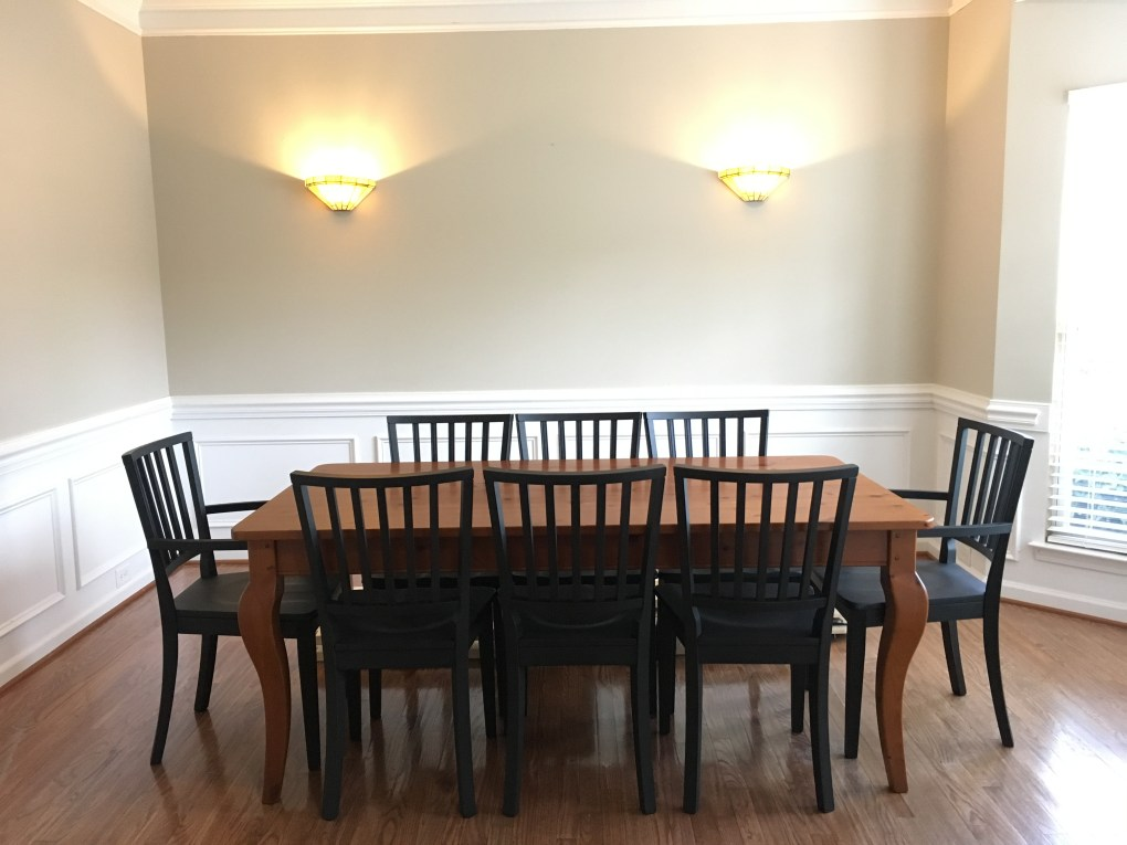 "Dining room ""Before"""