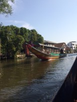 an afternoon on the river in Bangkok