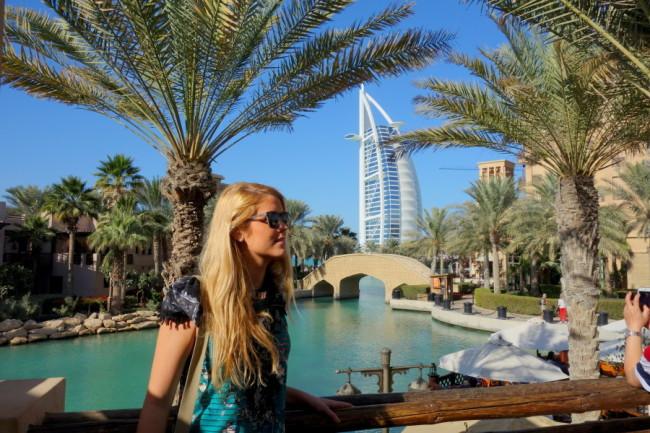 View over Burj Alarab