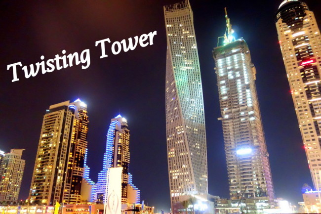 Twisted Tower in Dubai Marina