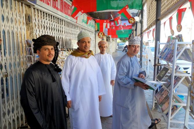 Traditional Oman clothing