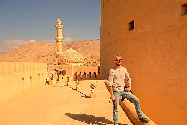 Fort in Nizwa Oman