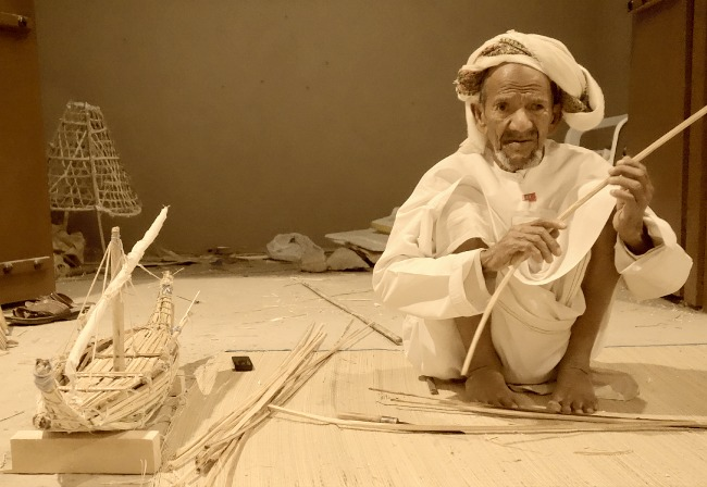 Old man from Oman