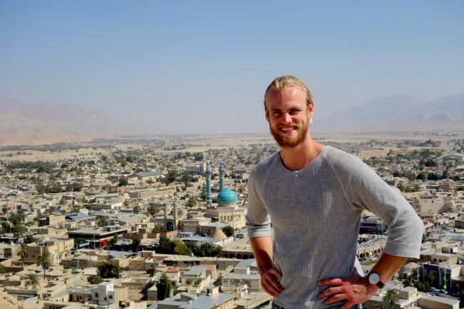 The city Lar in Iran