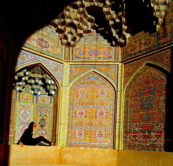 Nasir Mosque Shiraz