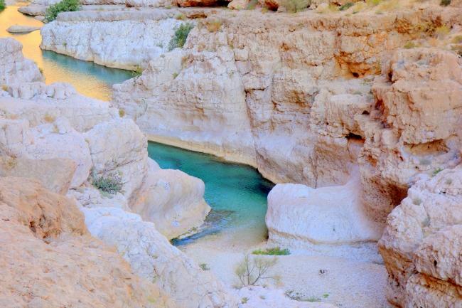Wadi Shap Oman