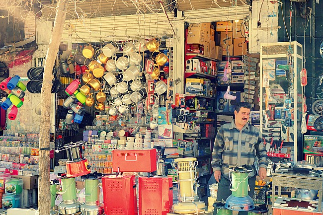 Local shop Iran