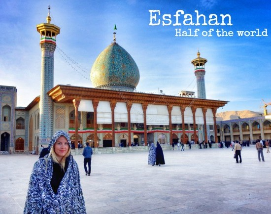 Esfahan half of the world
