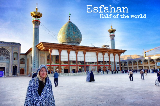 Esfahan half of the world