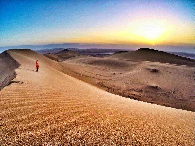 The desert Maranjab outside of Kashan