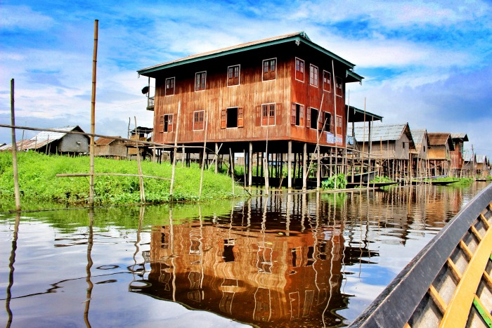 Floating Garden Myanmar