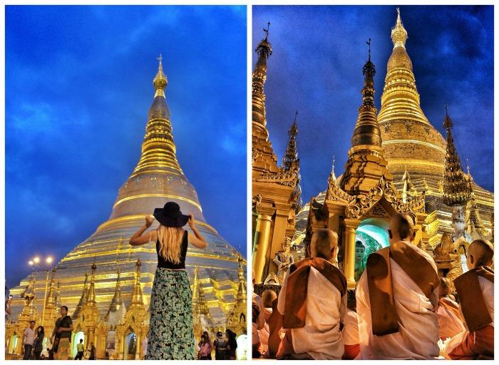 Shwedagon Pagoda Yangon City
