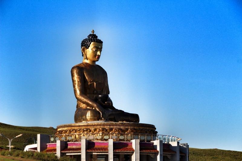 Big Buddah statue erdenet