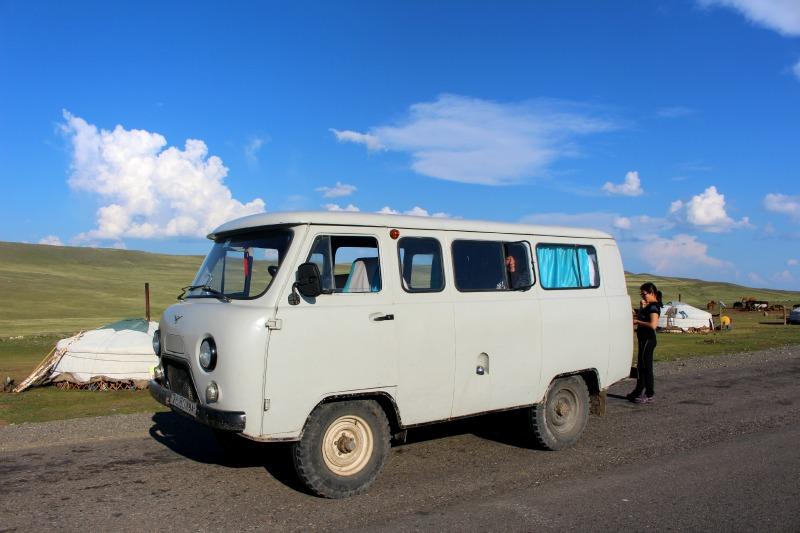 Russian Van Mongolia