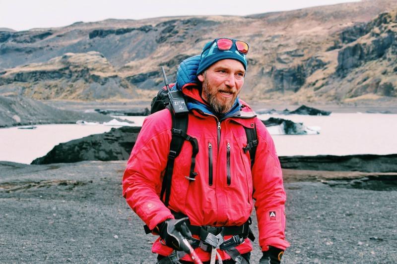 Glacier hiking in Iceland Sólheimajökull
