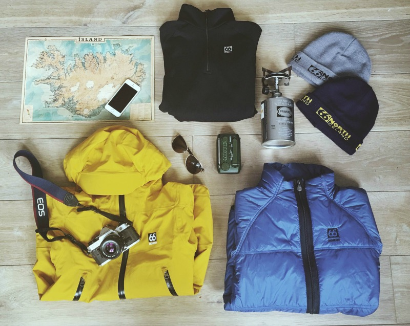 Packing list 66 north