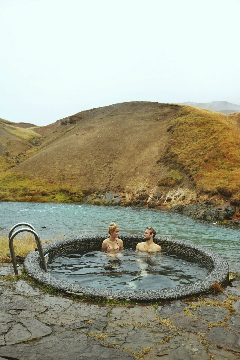 Reykjadalur Hot Spring Hike And Frost And Fire Hotel