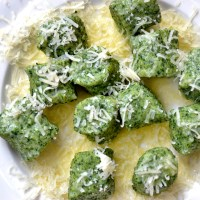 55 - Spinach, Ricotta and Parmesan Gnocchi