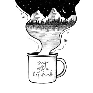 Escape With A Hot Drink
