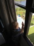 Take me to the pool Mom!