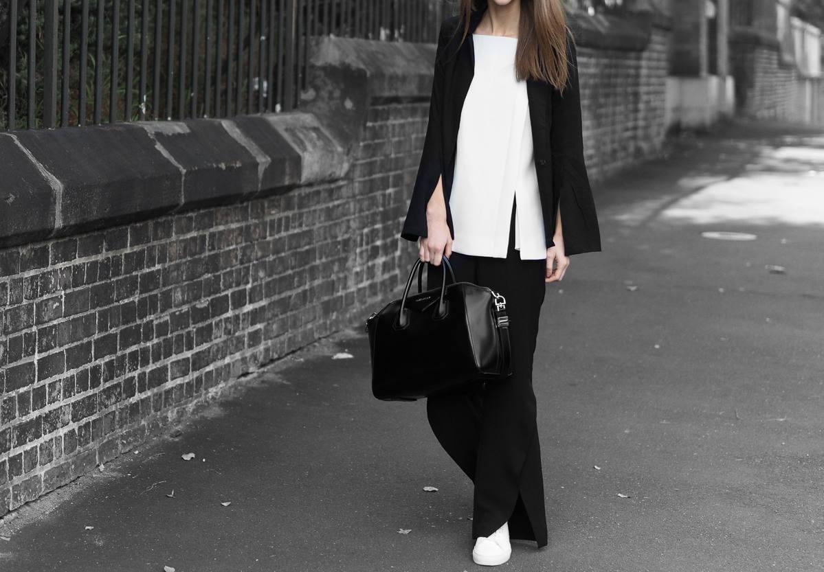 Minimal Monochrome Outfit