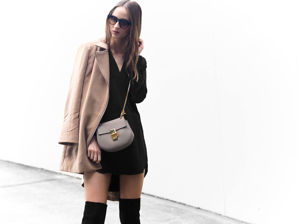 Over the knee boots outfit From Luxe With Love