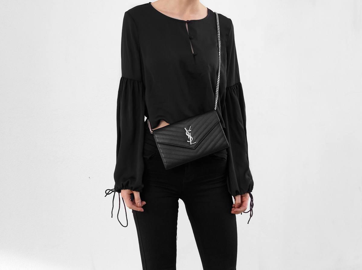Saint Laurent Black Crossbody Bag