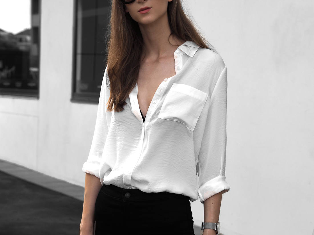 M&S COLLECTION White Long Sleeve Shirt