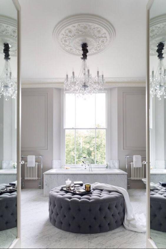 Luxury Minimal Bathroom
