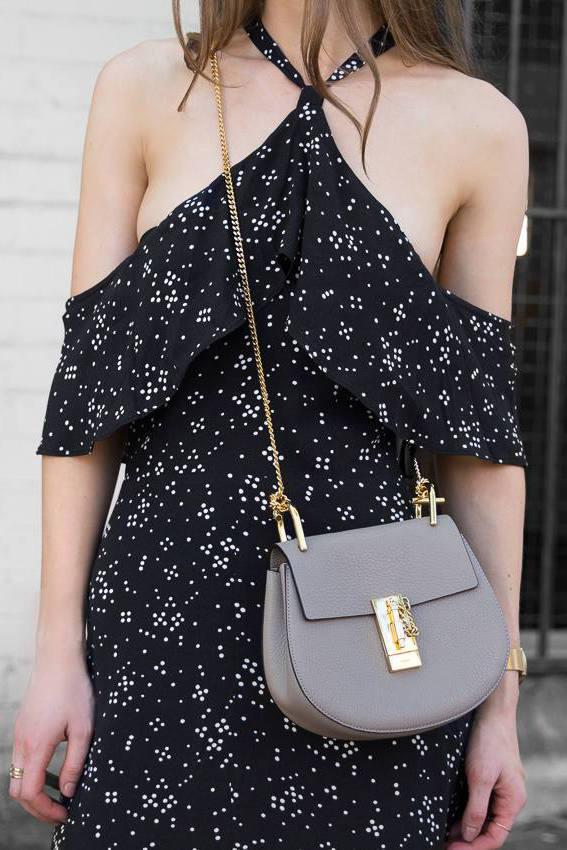 Chloe Drew Bag Taupe